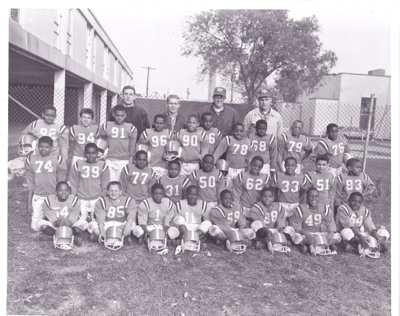 The Highland Park Polar Cubs Junior Varsity Team-1965. I was number 51.